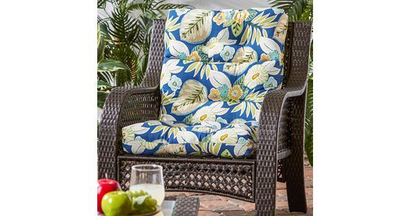 Kohls Patio Chair Cushions: Greendale Home Fashions Outdoor High-Back Chair Cushion