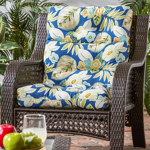Greendale Home Fashions Outdoor High, Pier One Outdoor Furniture Cushions