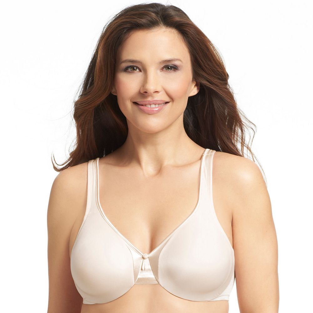 Olga® by Warner's® Bra: Signature Support Satin Full-Figure Full-Coverage Bra 35002