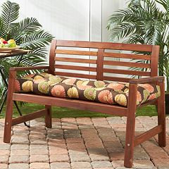 Greendale Home Fashions Outdoor Porch Swing or Bench Cushion - Long
