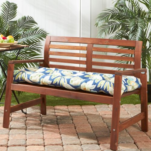 Greendale Home Fashions Outdoor Porch Swing or Bench Cushion – Long