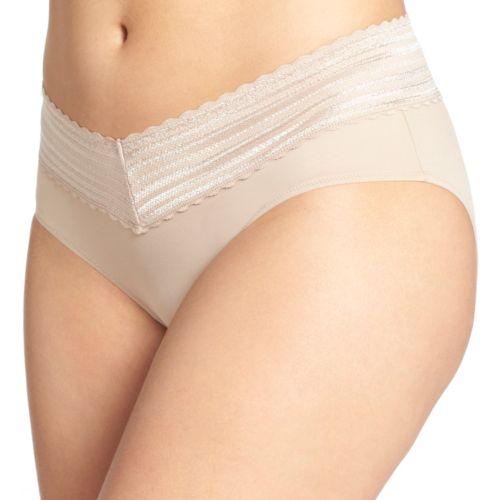 Warner's No Pinching. No Problem. Lace-Trim Hipster 5609 - Women's