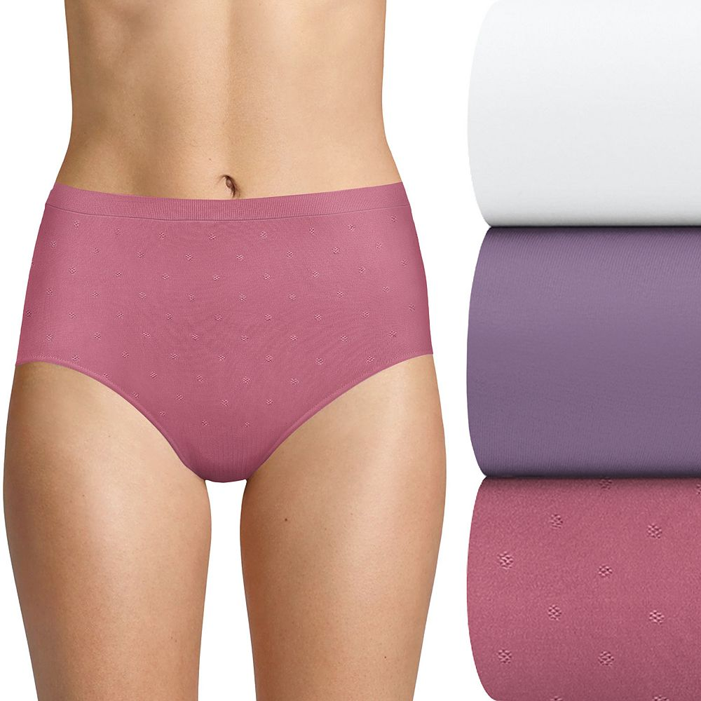 Women's Bali® 3-pk. Comfort Revolution Seamless Brief AK88