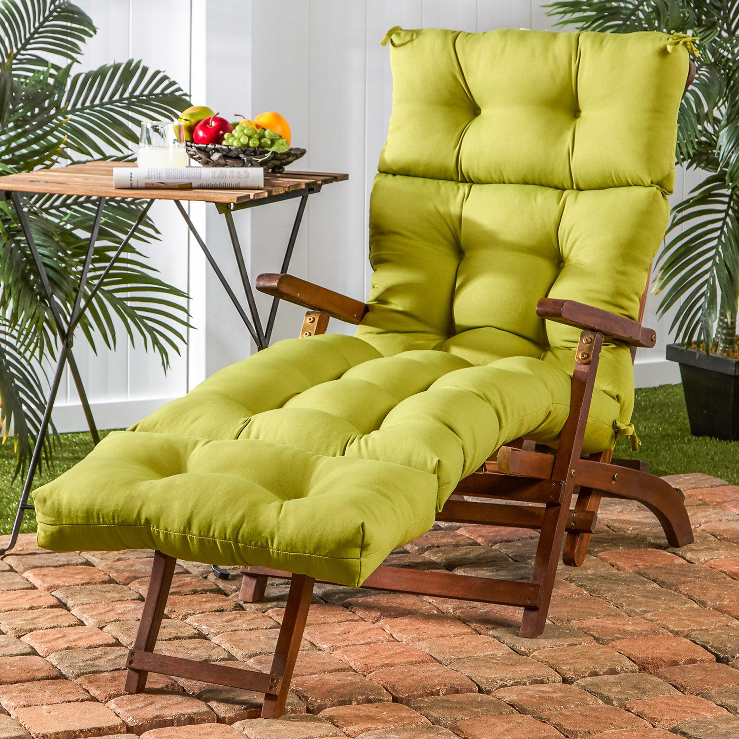 Superbe Greendale Home Fashions Outdoor Chaise Lounge Cushion