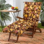Greendale Home Fashions Outdoor Chaise Lounge Cushion