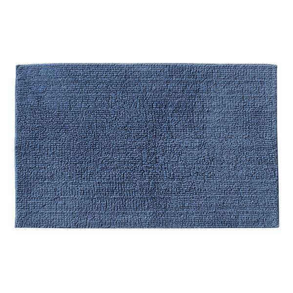 Reversible Cotton Bath Rug 20 X 32, Reversible Bathroom Rugs