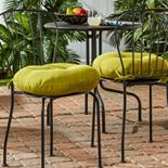 Greendale Home Fashions 2-pk. Round Outdoor Bistro Cushions - 18''