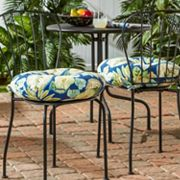 Greendale Home Fashions 2 pkRound Outdoor Bistro Cushions - 18''