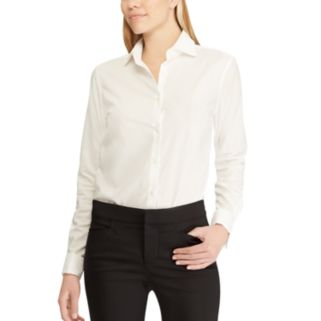 Women's Chaps Solid No Iron Shirt