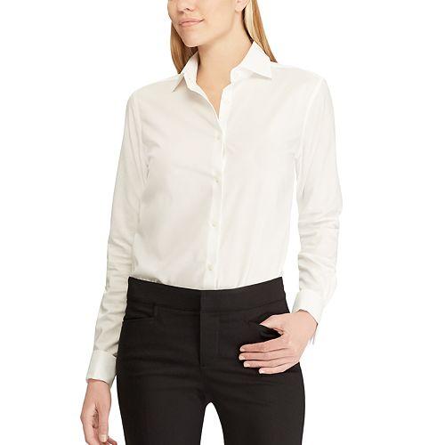 Women's Chaps Long Sleeve Non Iron Shirt