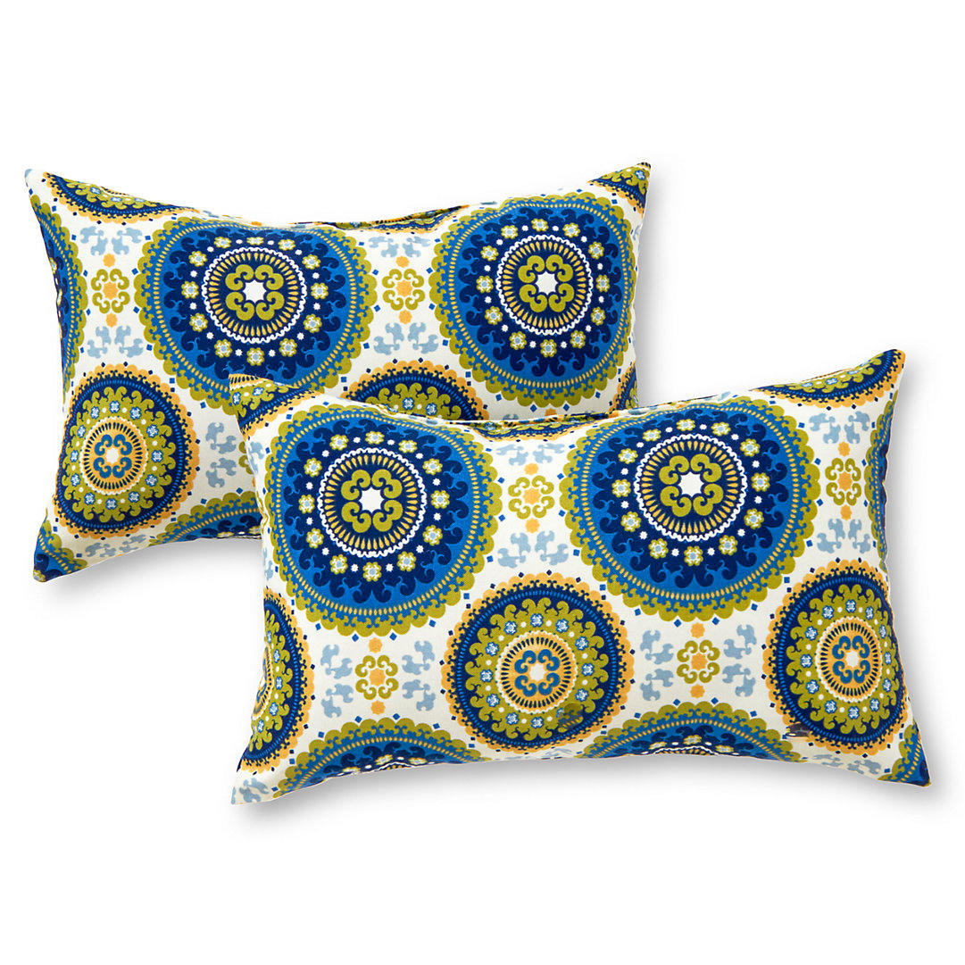 Greendale Home Fashions 11-pk. Oblong Outdoor Decorative Pillows
