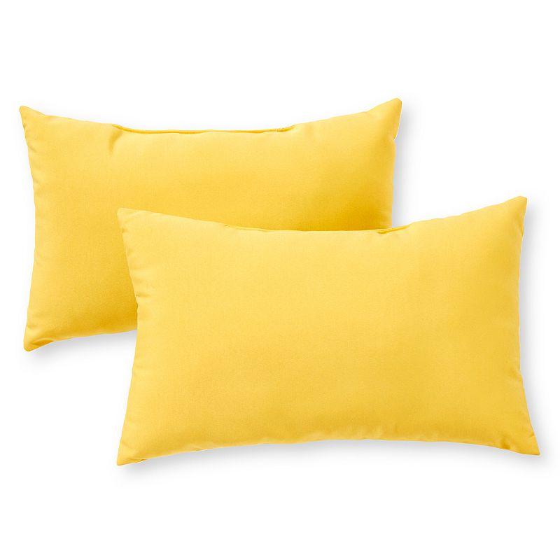 Yellow Throw Pillows At Kohls : Oblong Pillow Kohl s