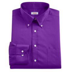 Mens Purple IZOD Dress Shirts Tops, Clothing | Kohl's