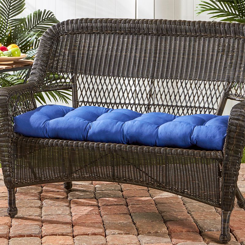 Greendale Home Fashions Outdoor Porch Swing Or Bench Cushion Long