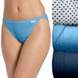 Jockey Elance 3-pk String Bikini Panties 1483 - Women's