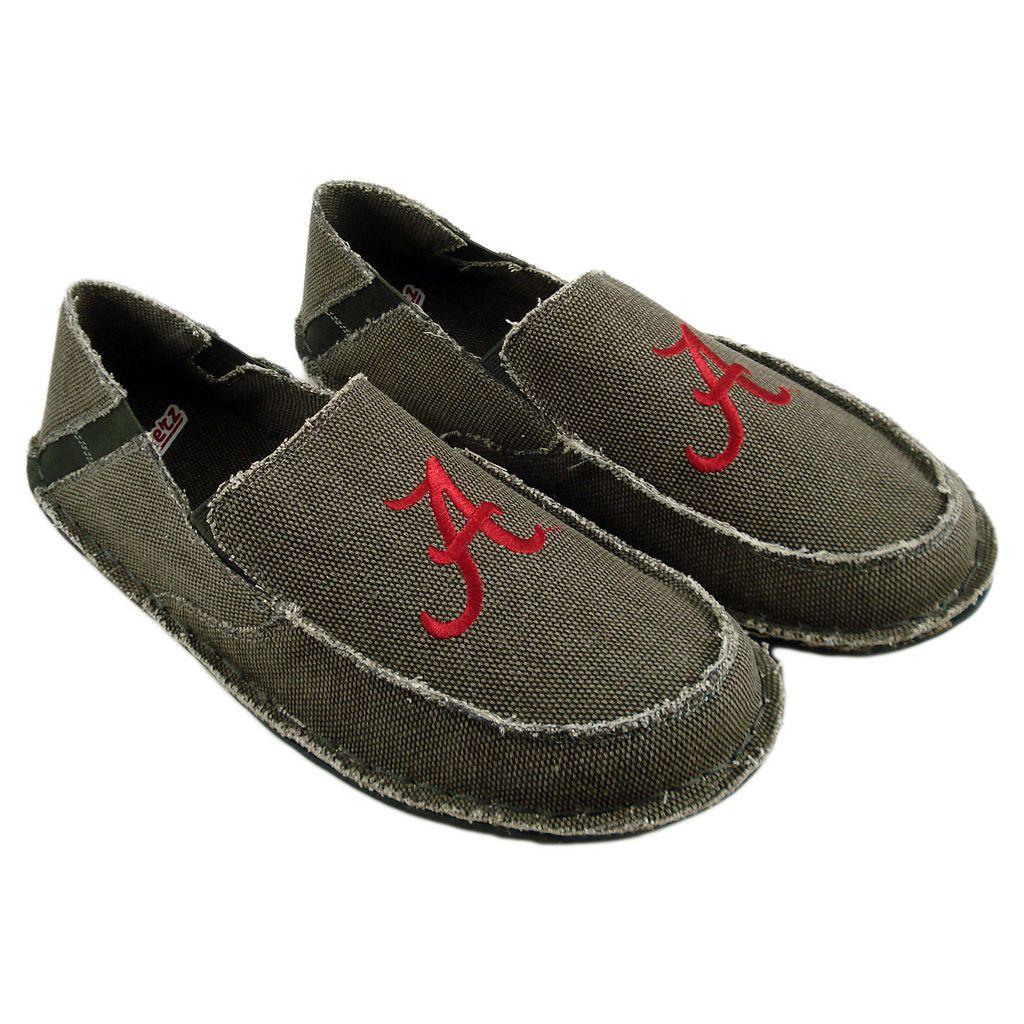 Men's Alabama Crimson Tide Cazulle Canvas Loafers