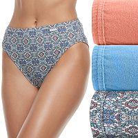 Plus Size Jockey Elance 3-pk. French Cut Panties 1485