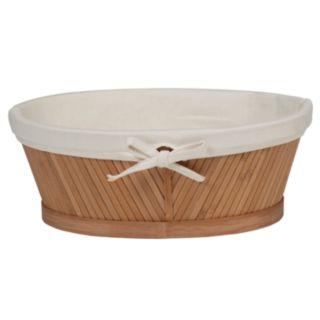 Creative Ware Home Bamboo Vanity Basket