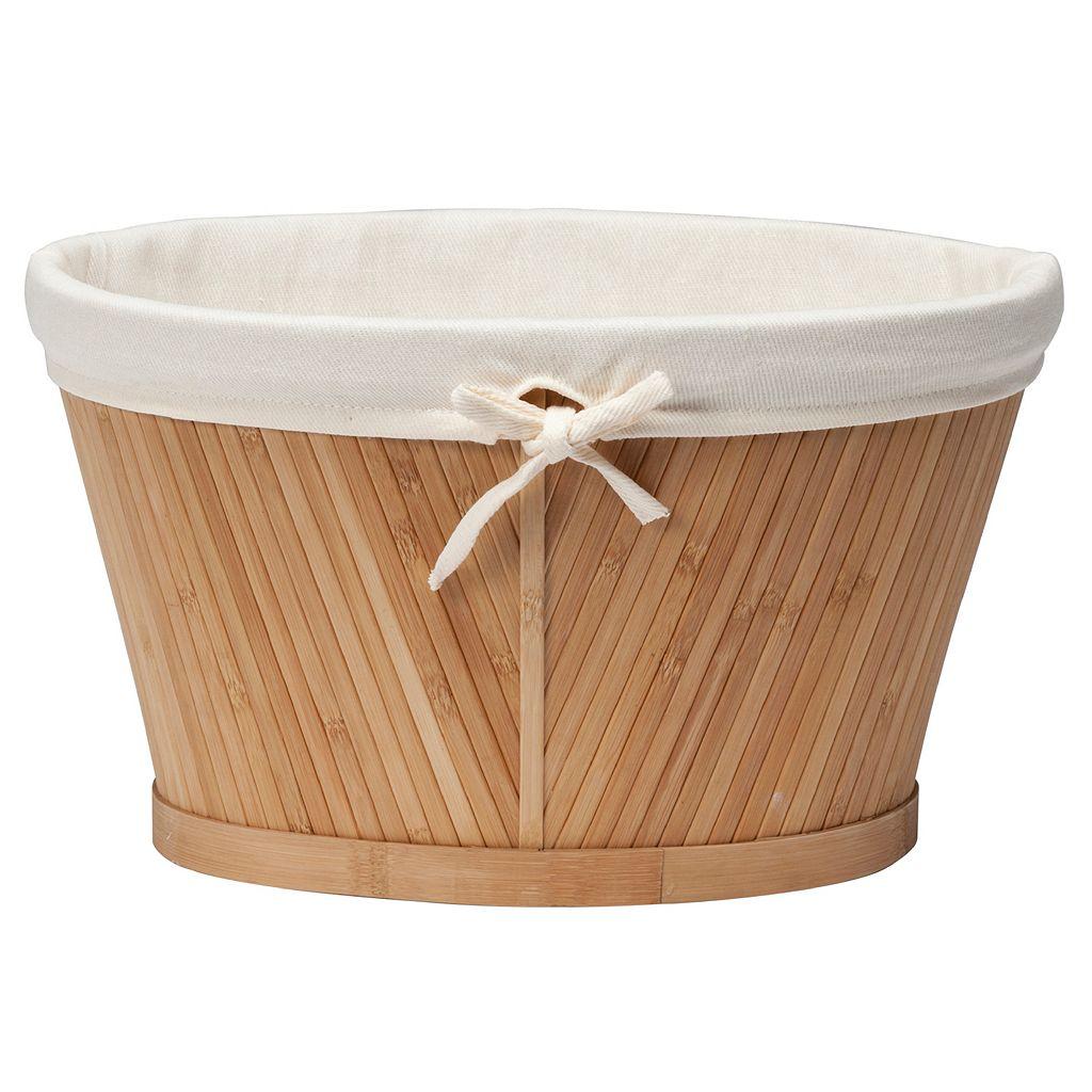 Creative Ware Home Bamboo Storage Basket - Small