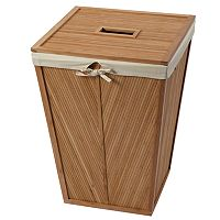 Creative Ware Home Bamboo Laundry Hamper