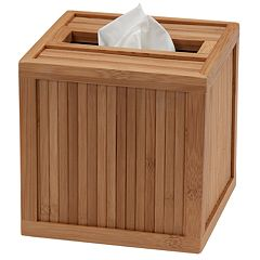 Creative Ware Home Boutique Bamboo Tissue Box