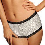 Women's Maidenform® One Fab Fit Microfiber Lace Trimmed Boyshort 40760