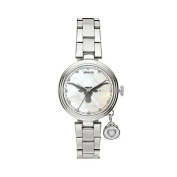 Sparo Charm Watch - Women's Texas Longhorns Stainless Steel