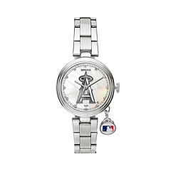 Sparo Charm Watch - Women's Los Angeles Angels of Anaheim Stainless Steel
