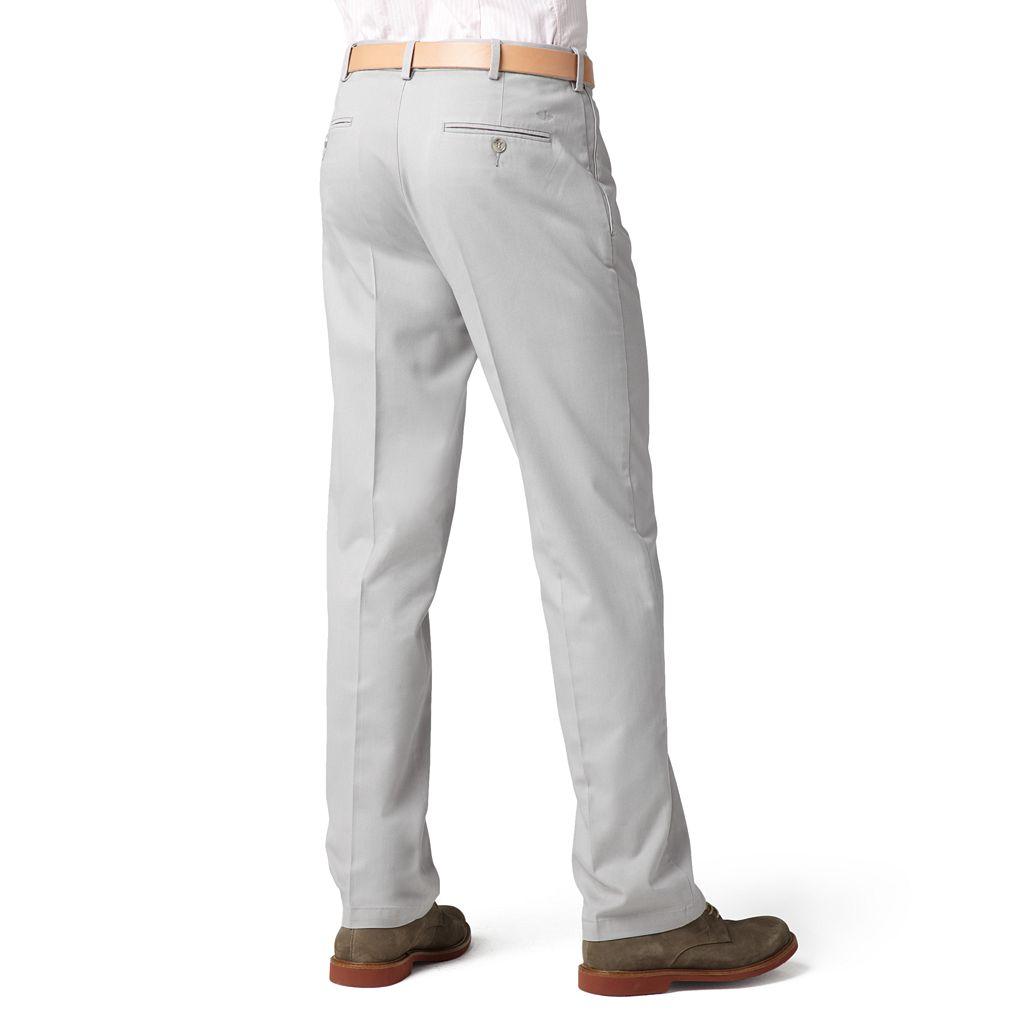 Dockers® Comfort-Waist D3 Classic-Fit Full-Elastic Flat-Front Pants - Men