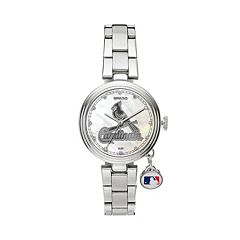 Sparo Charm Watch - Women's St. Louis Cardinals Stainless Steel