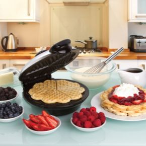Euro Cuisine Heart-Shaped Waffle Maker