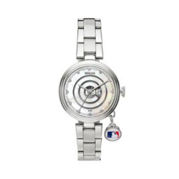 Sparo Charm Watch - Women's Chicago Cubs Stainless Steel