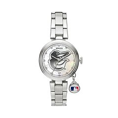 Sparo Charm Watch - Women's Baltimore Orioles Stainless Steel