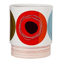 Creative Bath Dot Swirl Wastebasket