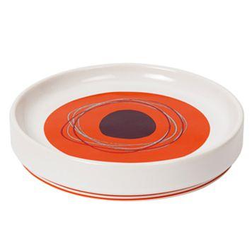 Creative Bath Dot Swirl Soap Dish