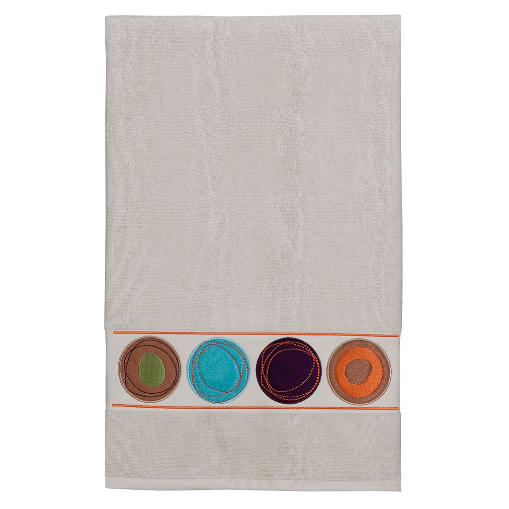 Creative Bath Dot Swirl Bath Towel