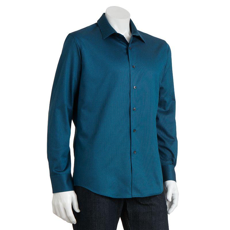 Blue dress shirt kohl 39 s for Apartment 9 dress shirts