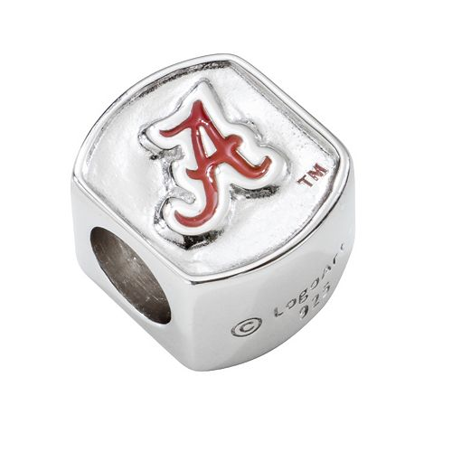 LogoArt Alabama Crimson Tide Sterling Silver Bead