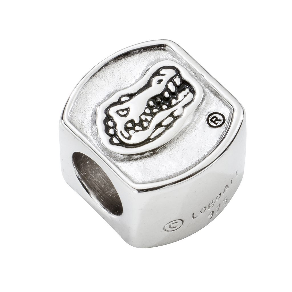 LogoArt Florida Gators Sterling Silver Bead