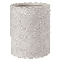 Creative Bath Scalloped Wastebasket