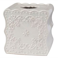 Creative Bath Scalloped Boutique Tissue Holder
