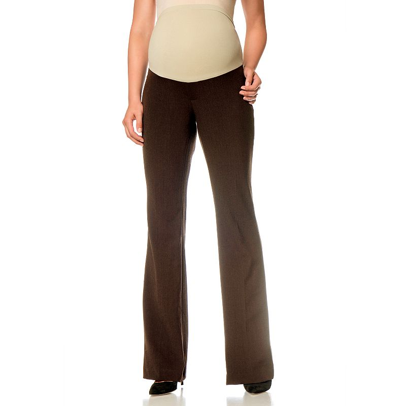 Oh Baby by Motherhood Secret Fit Belly Bootcut Pants - Petite Maternity
