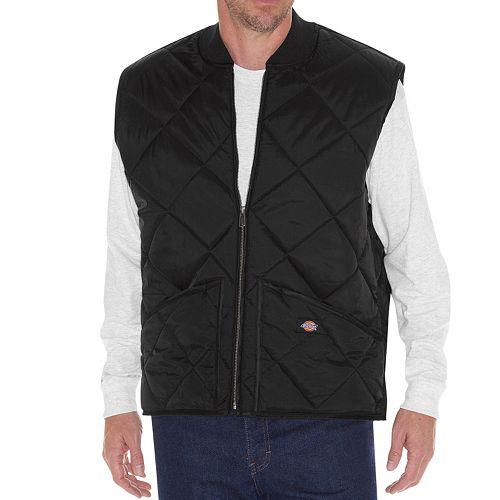 Men's Dickies Diamond-Quilted Nylon Vest