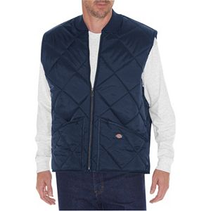 Men's Dickies Diamond-Quilted Nylon Vest