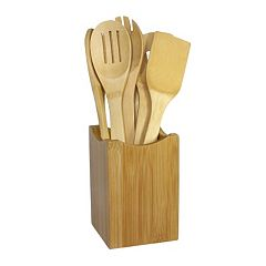 Oceanstar 7-pc. Bamboo Cooking Utensil Set