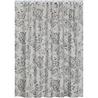 Creative Bath Sketchbook Fabric Shower Curtain