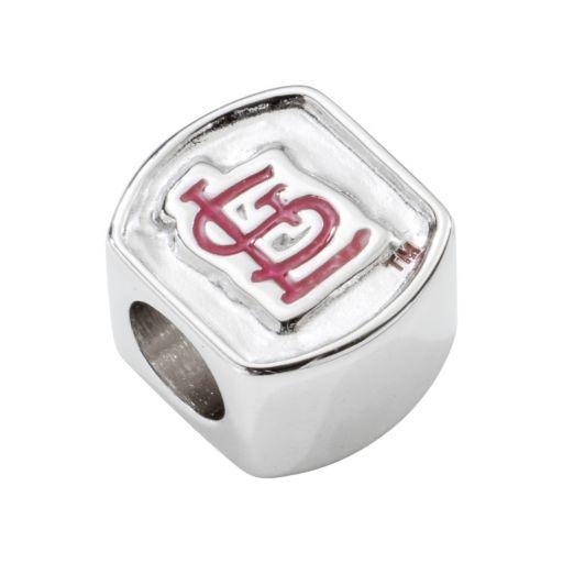 LogoArt St. Louis Cardinals Sterling Silver Bead