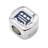 LogoArt Detroit Tigers Sterling Silver Bead