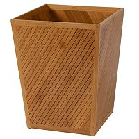 Creative Bath Spa Bamboo Wastebasket