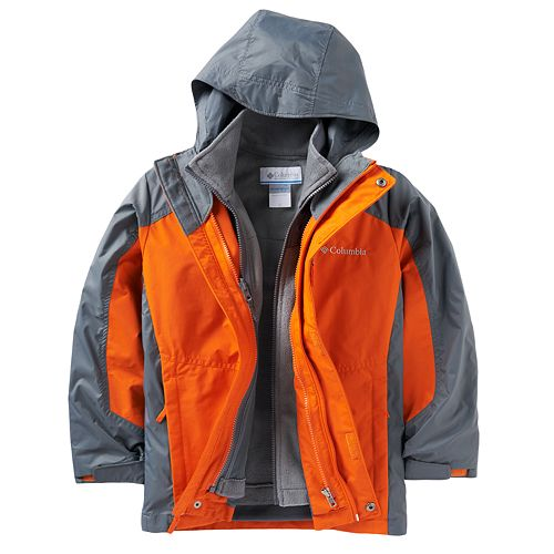 Boys 8-20 Columbia Blizzard Blast 3-in-1 Systems Jacket